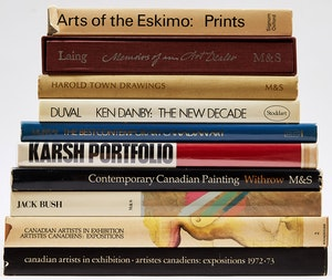 Artwork by  Books and Reference, Ten Canadian Art Reference Books