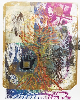 Artwork by Otis Tamasauskas, Fading Forest Series: The Forest Hopes!