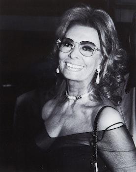 Artwork by Tom Sandler, Sophia Loren