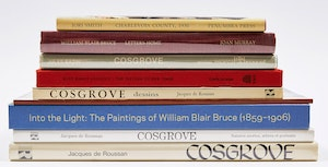 Artwork by  Books and Reference, Ten Publications on Canadian Artists