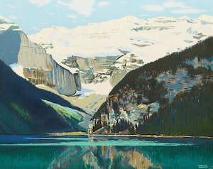 Artwork by George Franklin Arbuckle, Lake Louise
