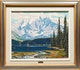 Thumbnail of Artwork by Alan Caswell Collier,  Emerald Lake (trimmed)