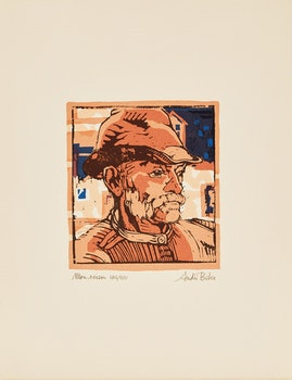 Artwork by André Charles Biéler, Andre Bieler: An Artist's Life and Times; Mon Voisin