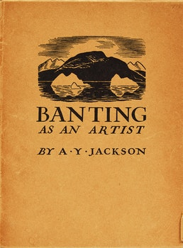 Artwork by Alexander Young Jackson, Banting as an Artist