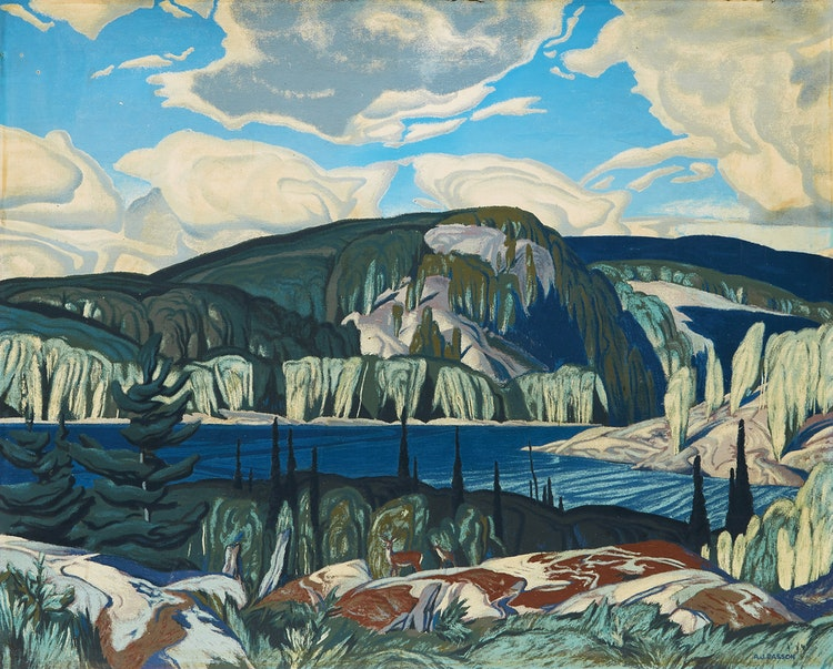 Artwork by Alfred Joseph Casson,  Algonquin Park