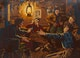 Thumbnail of Artwork by Charles Fraser Comfort,  The Bunkhouse Scene