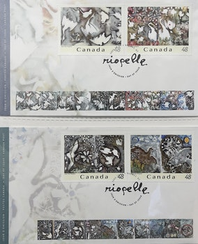 Artwork by  Books and Reference, Collection of First Day Covers and 1967 Centennial Stamp Box