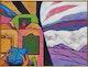 Thumbnail of Artwork by John Godfrey,  On Route to Paris
