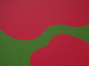 Artwork by Fernand Leduc, Splash (Passage Series)