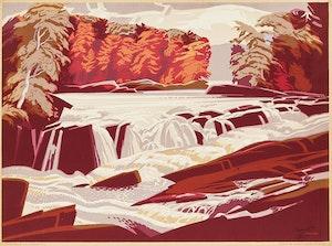 Artwork by Lawrence Arthur Colley Panton, Silver Stream