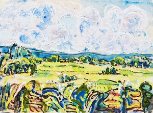 Artwork by Mashel Teitelbaum, Summer Landscape