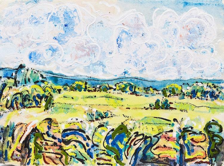 Artwork by Mashel Teitelbaum,  Summer Landscape