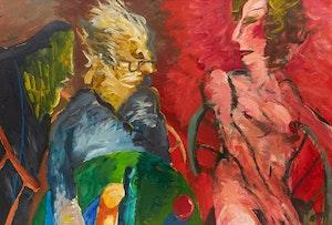 Artwork by Robert Markle, Conversation Series: Patrick Watson