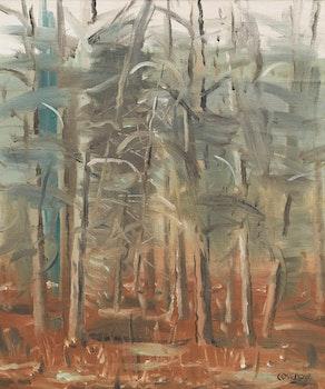 Artwork by Stanley Morel Cosgrove, Les arbres