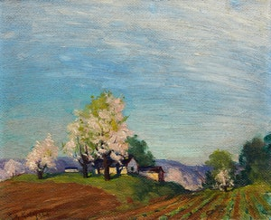 Artwork by George Arthur Kulmala, Blossom Time
