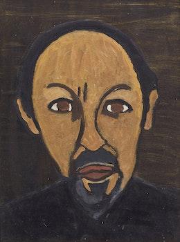 Artwork by Barker Fairley, Portrait of Jack Yashinsky