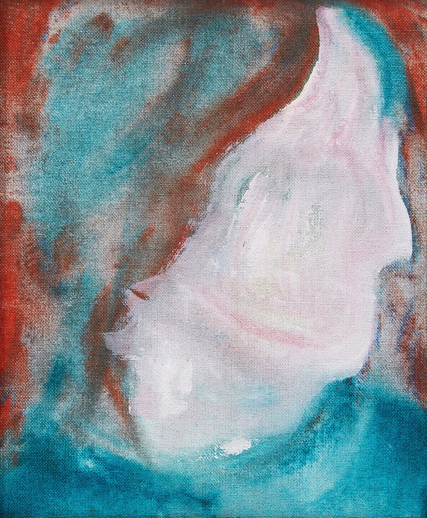 Artwork by David Bowie,  DHead XLVI