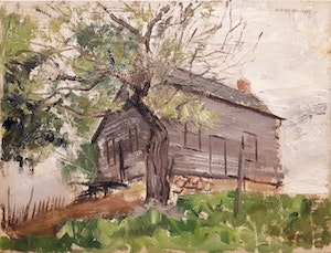 Artwork by Hedley Rainnie, Spring Study