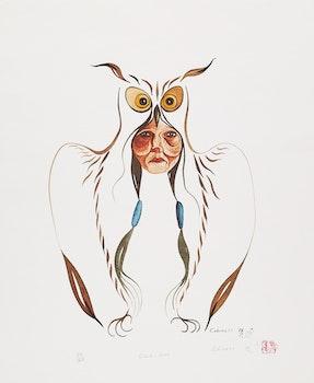 Artwork by Eddy Cobiness, Owlman