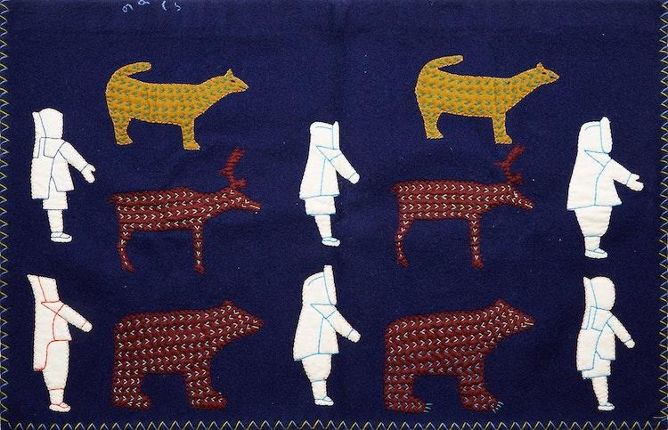 Artwork by Winnie Tatya,  Figures and Animals