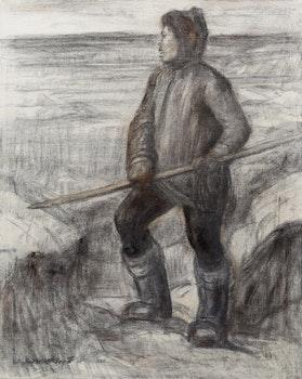Artwork by Adam Sherriff Scott, Eskimo Hunter