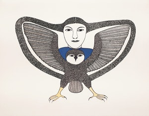 Artwork by  Books and Reference, Kenojuak: Graphic Masterworks of the Inuit