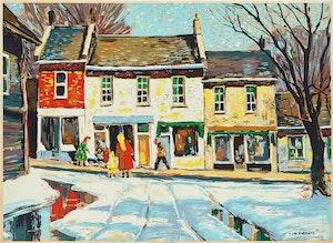Artwork by Thomas Keith Roberts, Main Street
