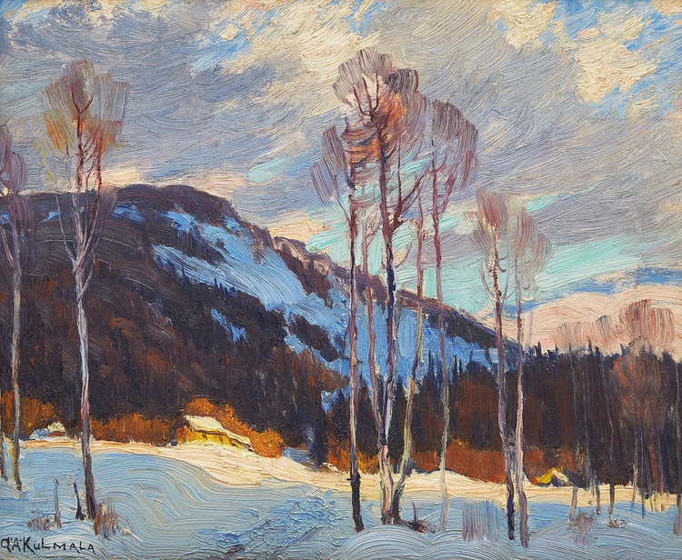 Artwork by George Arthur Kulmala,  Landscape (Sketch No. 1)
