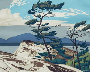 Artwork by Alfred Joseph Casson, The White Pine