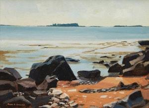 Artwork by Alan Caswell Collier, Port La Tour, Nova Scotia