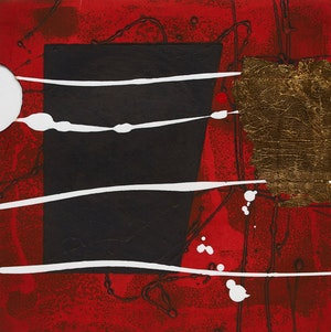 Artwork by Ian Wilkinson, Three Abstract Works