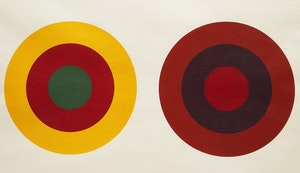Artwork by Claude Tousignant, 1-75