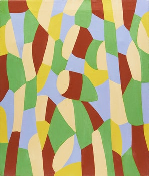 Artwork by Gregg Simpson, Luberon Landscape