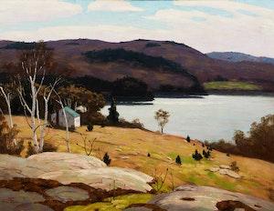 Artwork by George Thomson, Lake of Bays