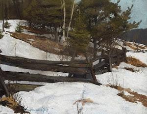 Artwork by Frank Charles Hennessey, Gatineau Landscape