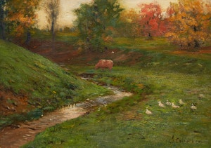 Artwork by John Colin Forbes, Conway Creek