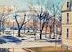 Thumbnail of Artwork by Jack Beder,  Winter Landscape