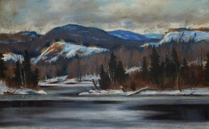 Artwork by Thomas Hilton Garside, Eastern Townships