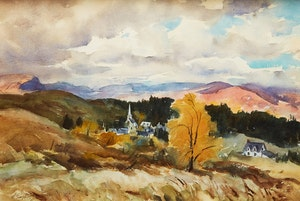 Artwork by Henry John Simpkins, Landscape