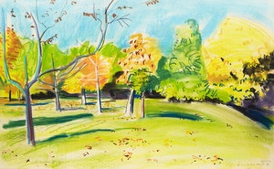 Artwork by Kenneth Campbell Lochhead, Arboretum #29