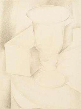 Artwork by Lionel LeMoine FitzGerald, Still Life with Goblet