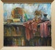 Thumbnail of Artwork by Joseph Francis Plaskett,  Bookshelf Still Life
