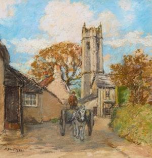 Artwork by Alice Des Clayes, Buckingham Church, Devon
