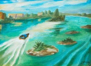 Artwork by Philip Henry Howard Surrey, Martinique