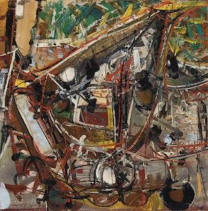 Artwork by Harold Barling Town, Through Utrillo's Garden