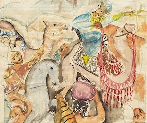 Artwork by Pegi Nicol MacLeod, Untitled (Parade)
