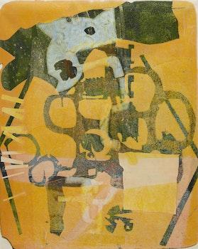 Artwork by Harold Barling Town, Untitled