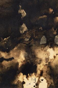 Artwork by Christian Marcel Barbeau, L'heure la plus silencieuse (Les combustions originelles)