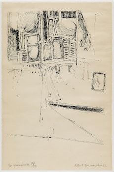 Artwork by Albert  Dumouchel, La Promenade