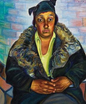 Artwork by Efa Prudence Heward, Mrs. Decco (1940)